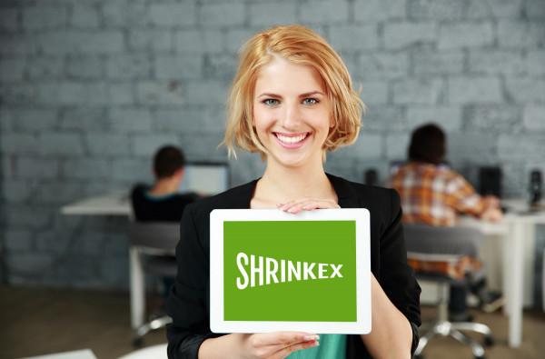 Sample branding #1 for Shrinkex