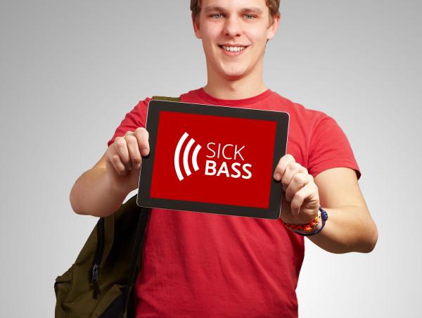 Sample branding #2 for Sickbass