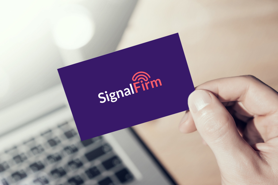 Sample branding #3 for Signalfirm
