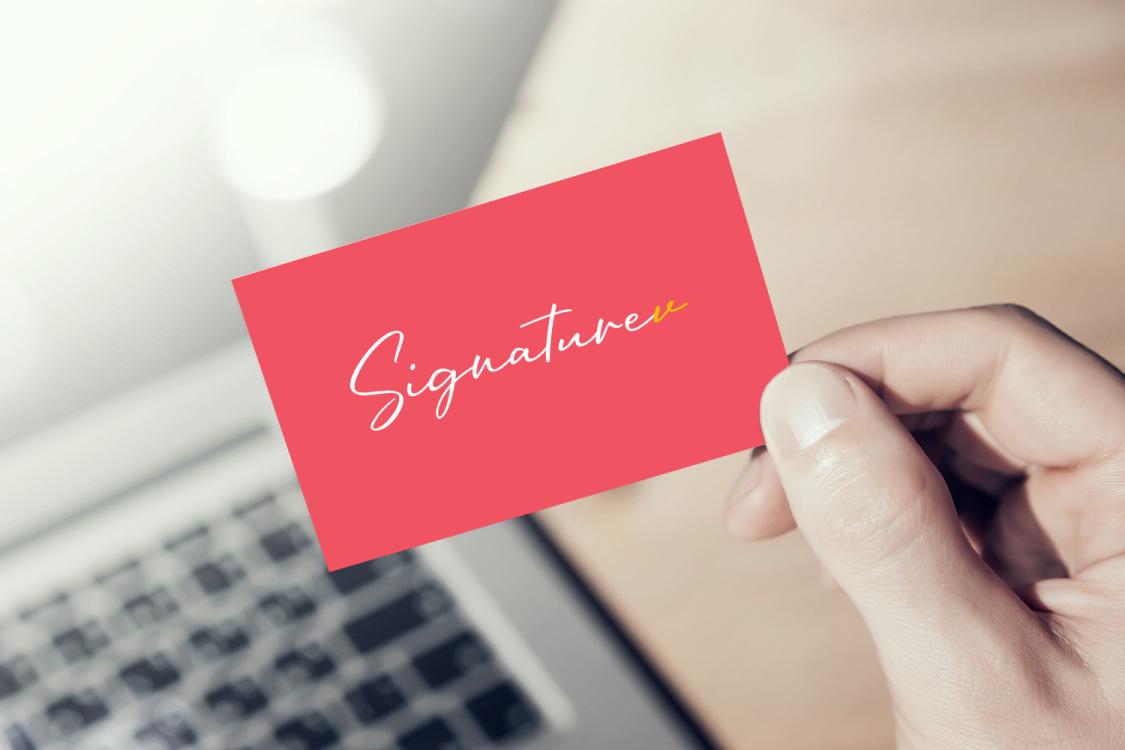 Sample branding #3 for Signaturev