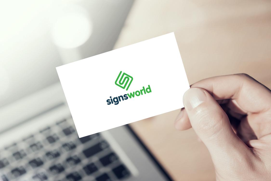 Sample branding #2 for Signsworld