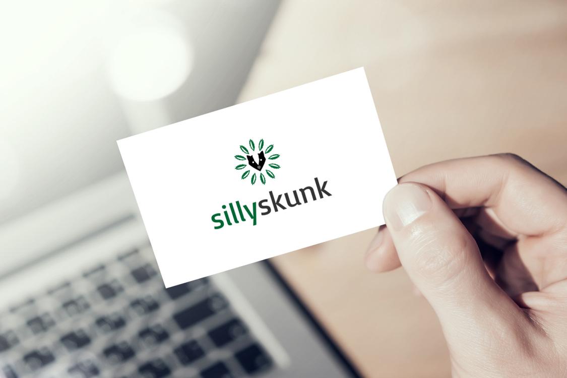 Sample branding #2 for Sillyskunk