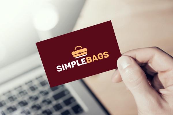 Sample branding #2 for Simplebags