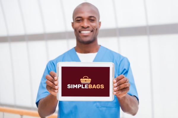 Sample branding #3 for Simplebags