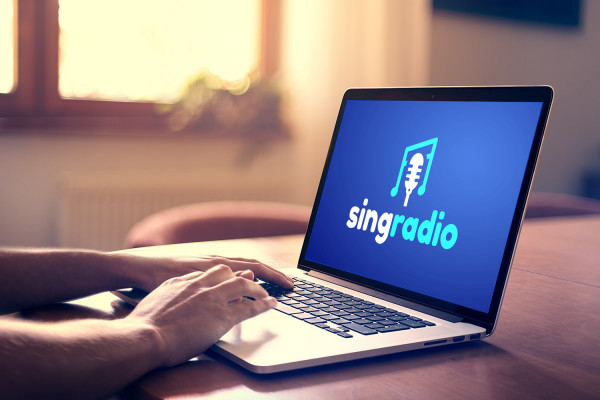 Sample branding #2 for Singradio