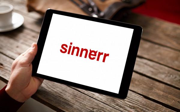 Sample branding #1 for Sinnerr