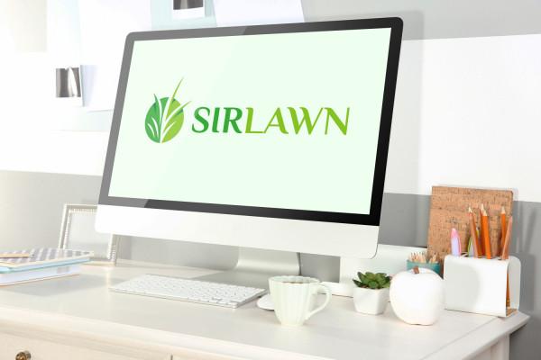 Sample branding #2 for Sirlawn