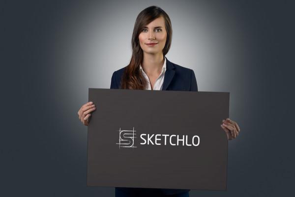 Sample branding #1 for Sketchlo