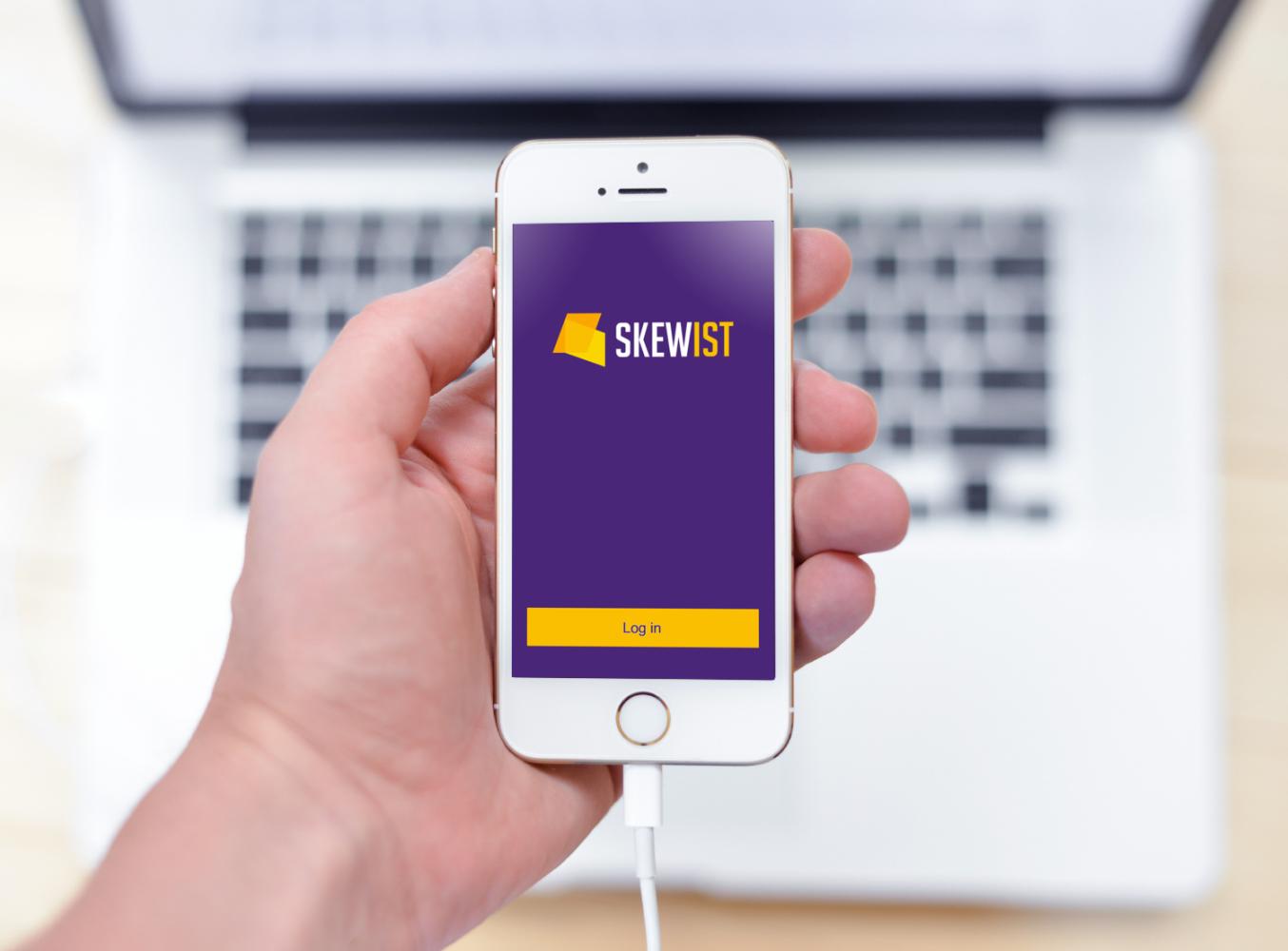 Sample branding #1 for Skewist