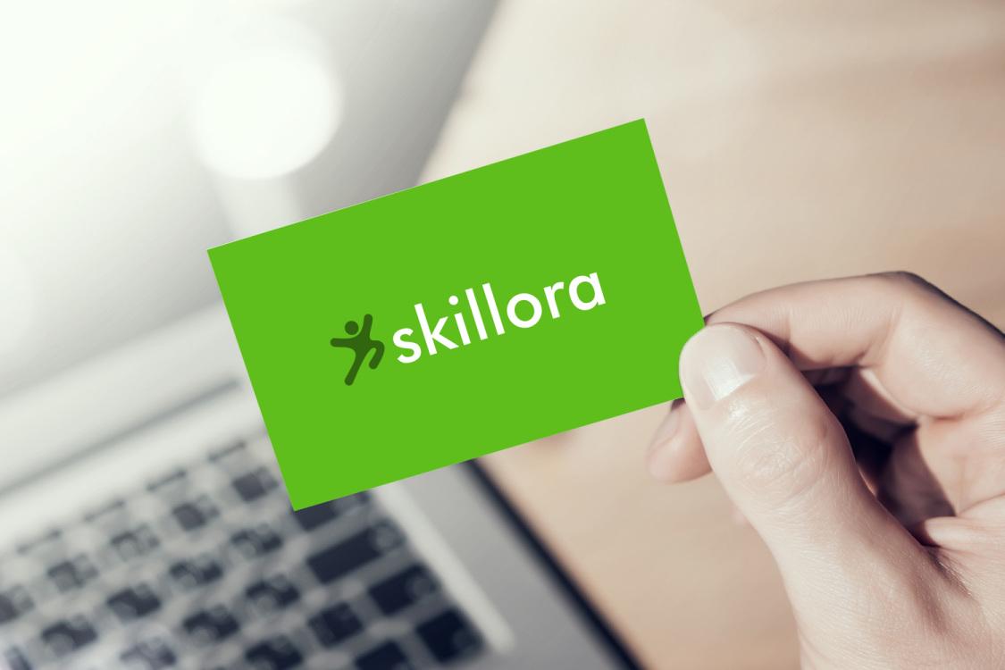 Sample branding #1 for Skillora