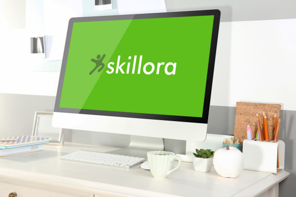 Sample branding #3 for Skillora