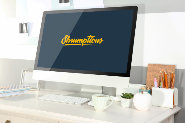 Sample branding #1 for Skrumptious