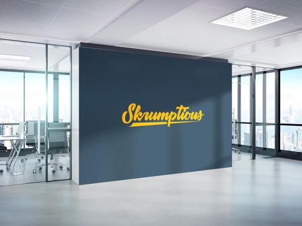 Sample branding #2 for Skrumptious