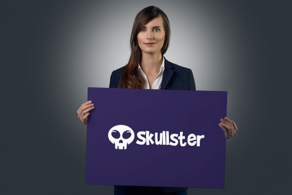 Sample branding #3 for Skullster
