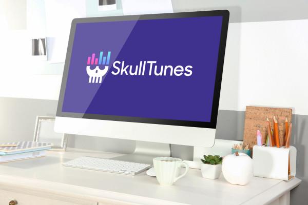 Sample branding #1 for Skulltunes