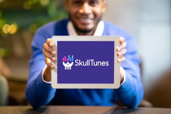 Sample branding #3 for Skulltunes