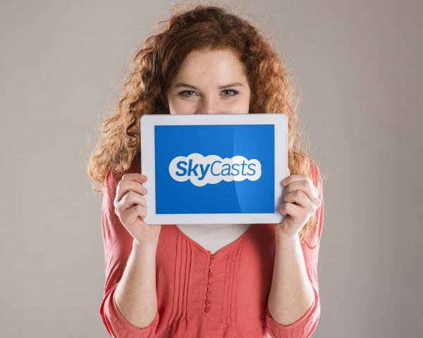 Sample branding #1 for Skycasts