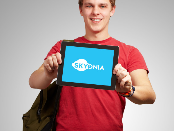 Sample branding #3 for Skyonia