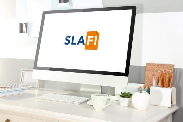 Sample branding #1 for Slafi