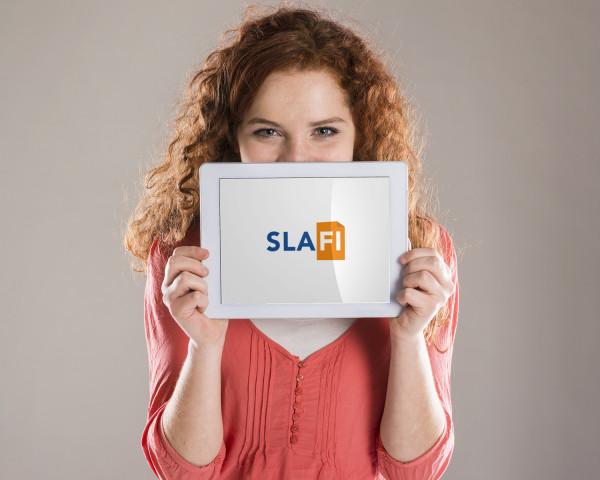 Sample branding #3 for Slafi