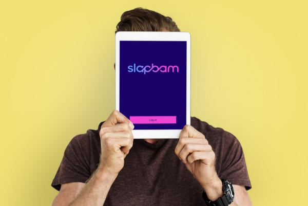 Sample branding #1 for Slapbam