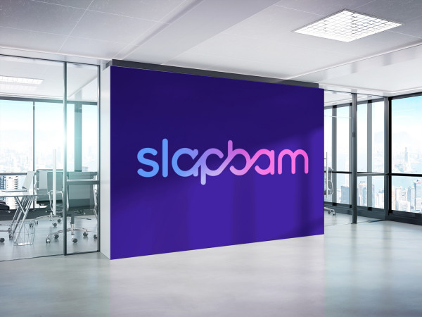 Sample branding #2 for Slapbam