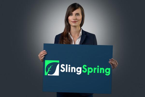 Sample branding #1 for Slingspring