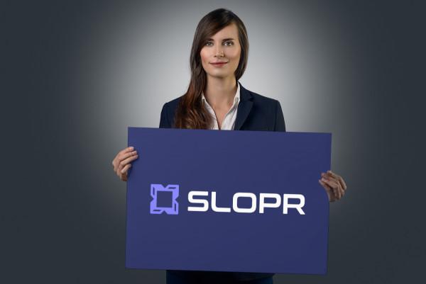 Sample branding #2 for Slopr