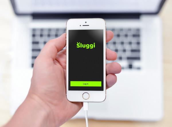 Sample branding #2 for Sluggi