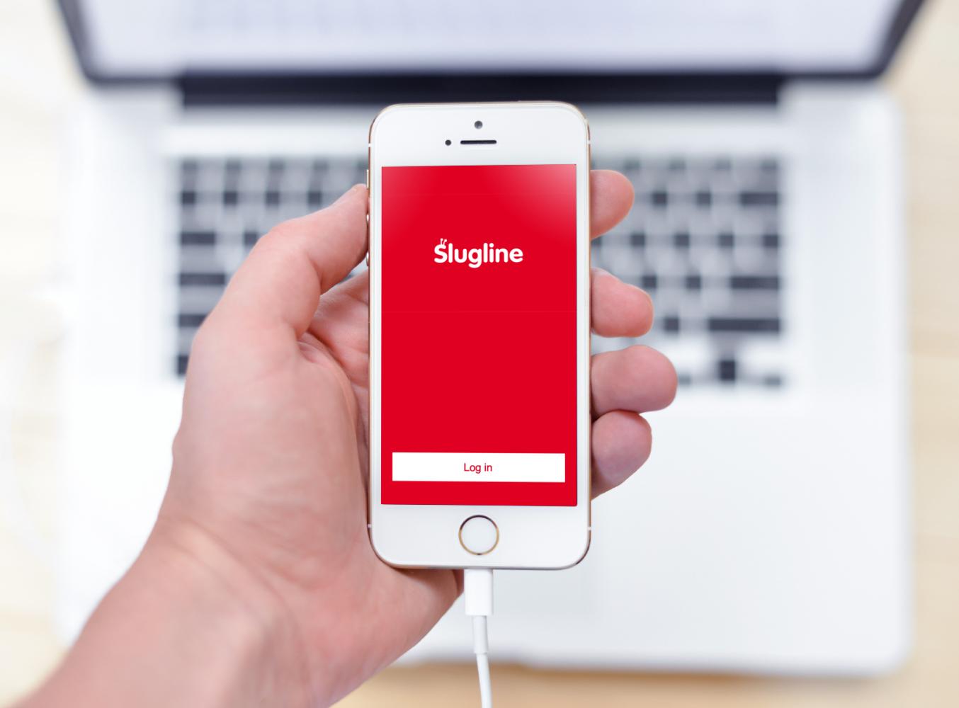 Sample branding #2 for Slugline
