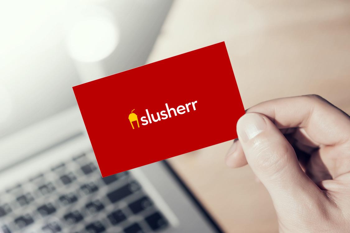 Sample branding #1 for Slusherr