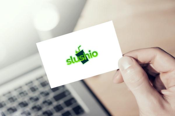 Sample branding #2 for Slushio
