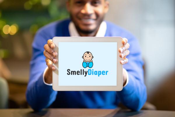 Sample branding #2 for Smellydiaper