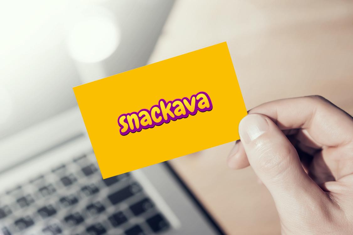 Sample branding #2 for Snackava