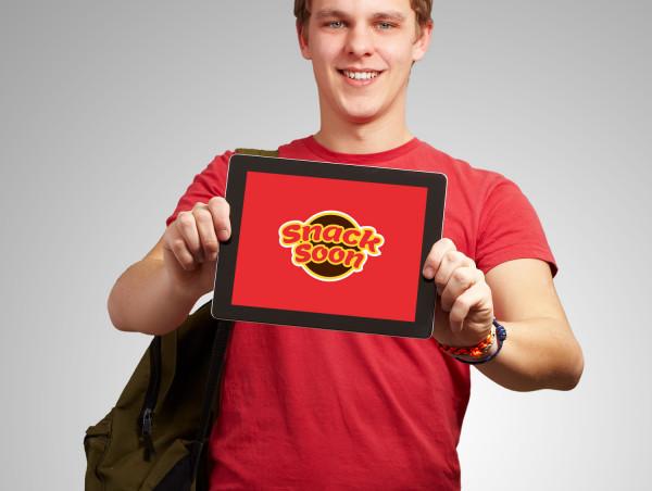 Sample branding #3 for Snacksoon
