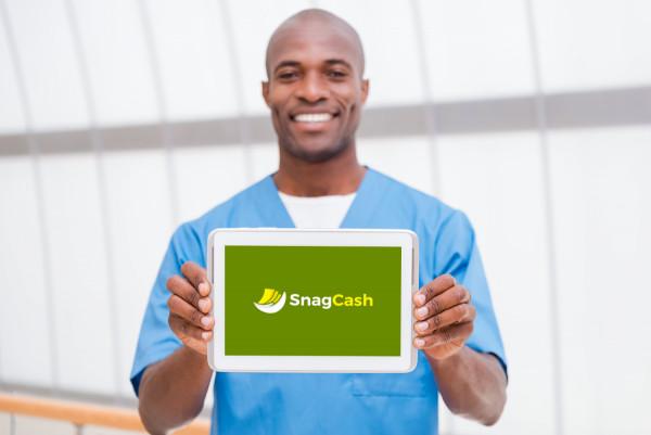 Sample branding #2 for Snagcash