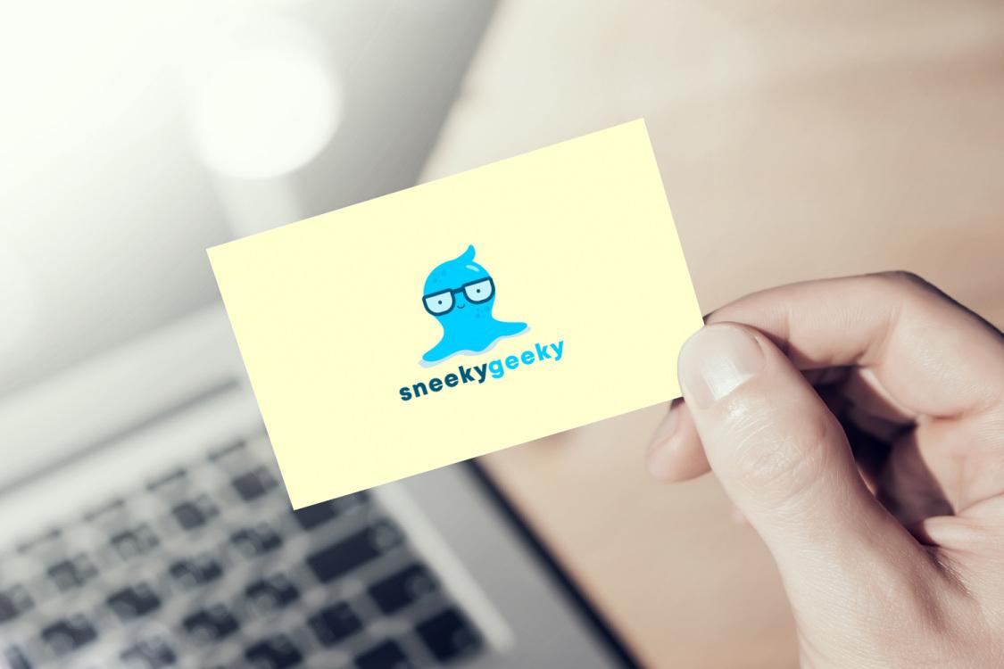 Sample branding #2 for Sneekygeeky