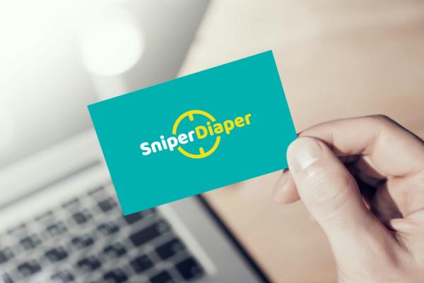 Sample branding #1 for Sniperdiaper