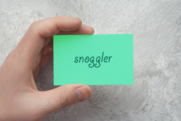 Sample branding #3 for Snoggler