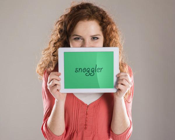 Sample branding #2 for Snoggler