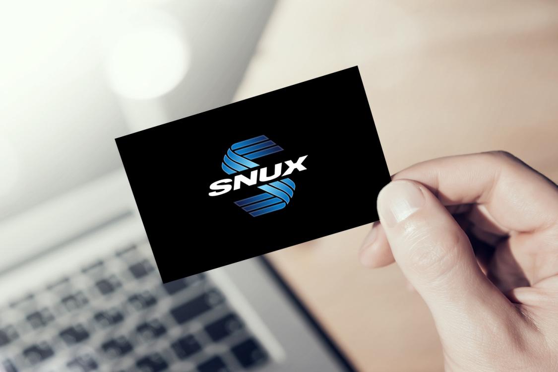 Sample branding #2 for Snux