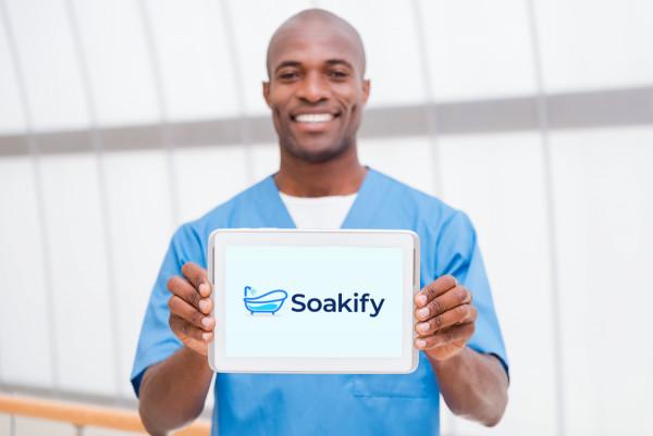 Sample branding #1 for Soakify