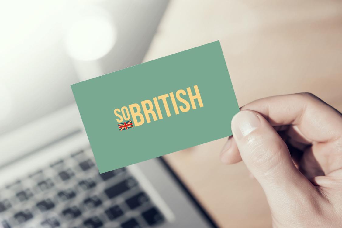 Sample branding #3 for Sobritish