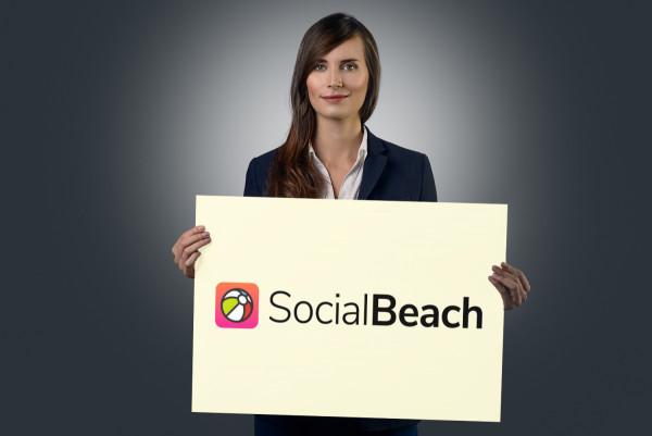 Sample branding #3 for Socialbeach
