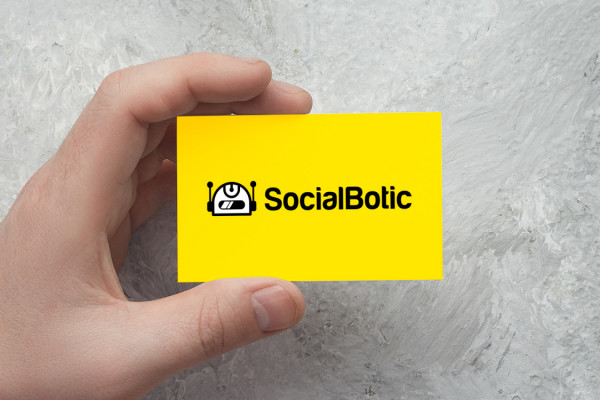 Sample branding #2 for Socialbotic