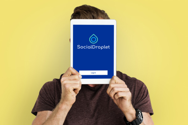 Sample branding #2 for Socialdroplet
