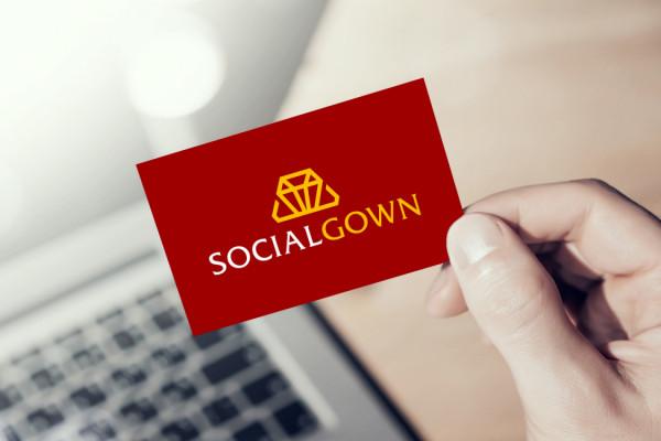 Sample branding #1 for Socialgown