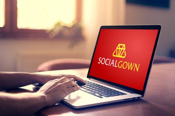 Sample branding #2 for Socialgown