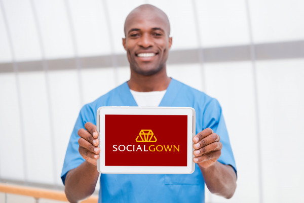 Sample branding #1 for Socialgown