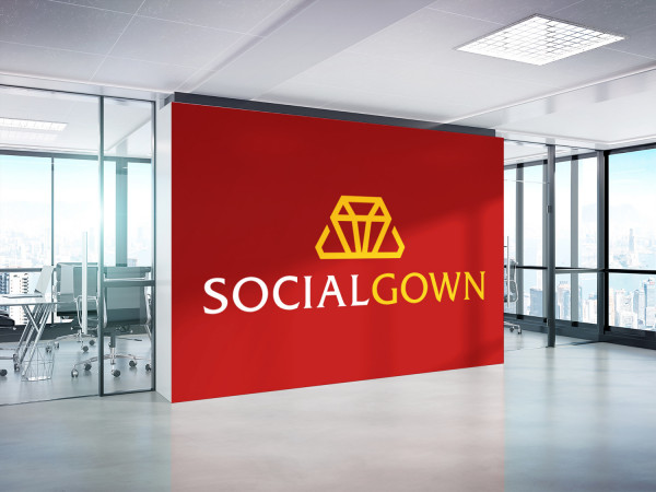 Sample branding #3 for Socialgown